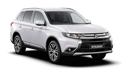 Mitsubishi Outlander - Available in Frost White
