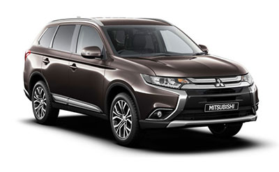 Mitsubishi Outlander - Available in Granite Brown